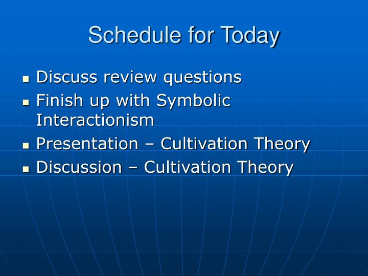 schedule for today n.