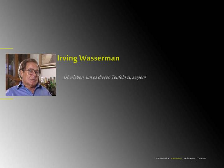 Irving Wasserman
