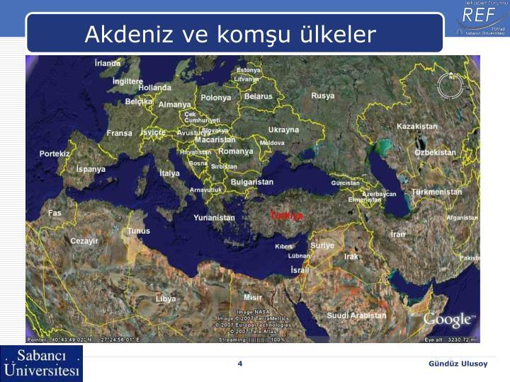 Akdeniz ve komşu ülkeler