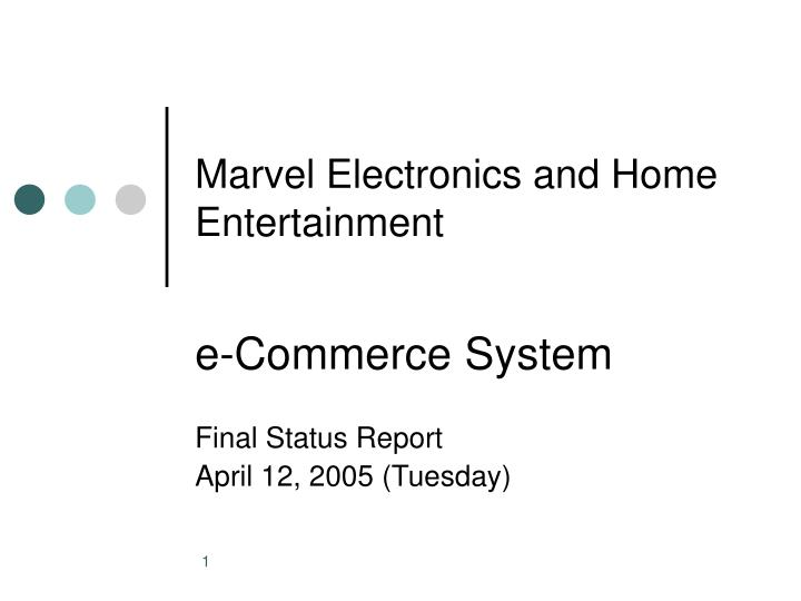 marvel electronics and home entertainment n.