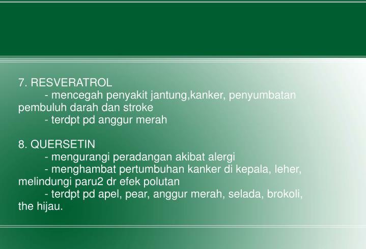 7. RESVERATROL