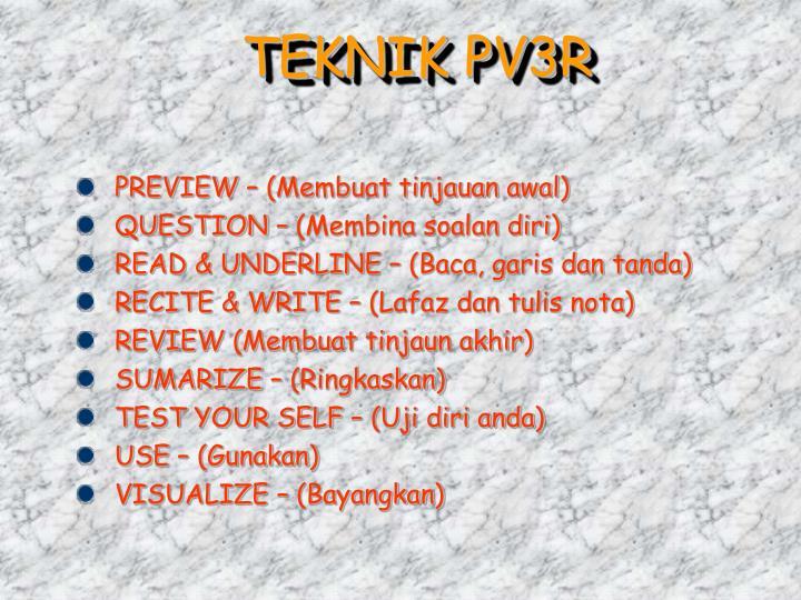 TEKNIK PV3R