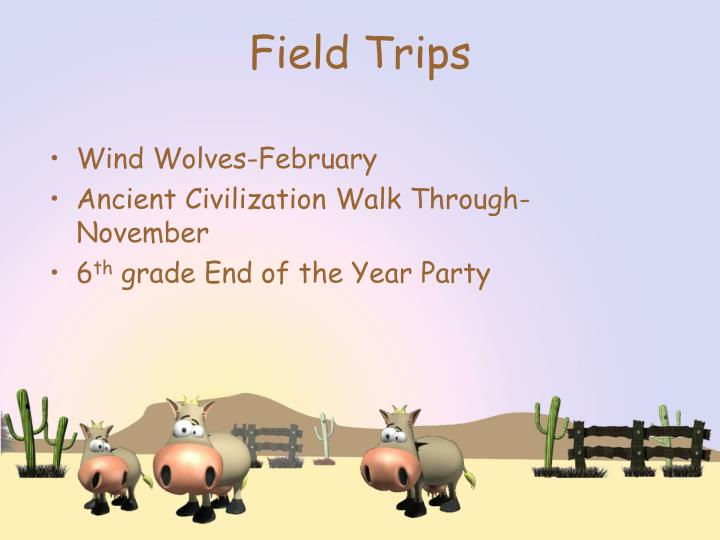 Wind Wolves-February