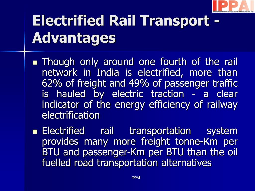 PPT - ENERGY PROSPECTIVE OF THE TRANSPORT SECTOR IN INDIA PowerPoint