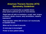 american thoracic society ats spirometry guidelines1