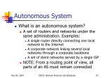 autonomous system1
