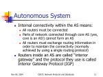 autonomous system2