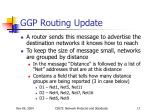 ggp routing update