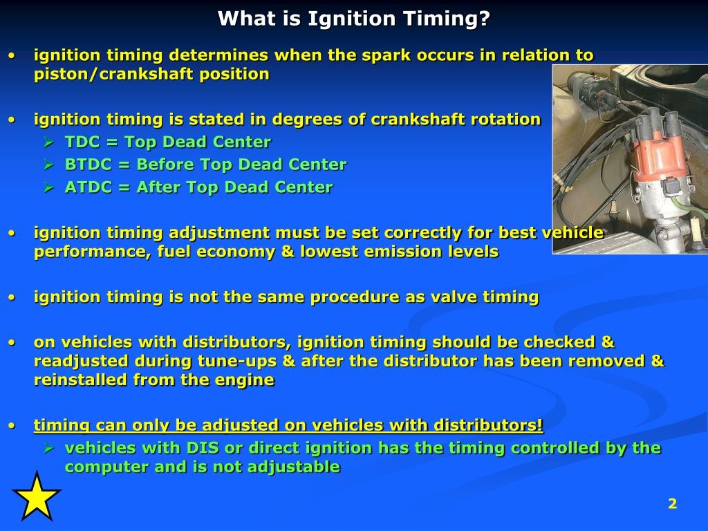 PPT - Ignition Timing PowerPoint Presentation - ID:3774303