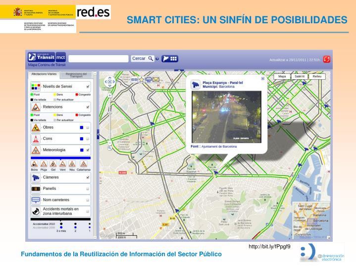 SMART CITIES: UN SINFÍN DE POSIBILIDADES