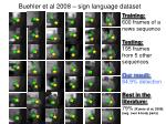 buehler et al 2008 sign language dataset