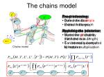 the chains model