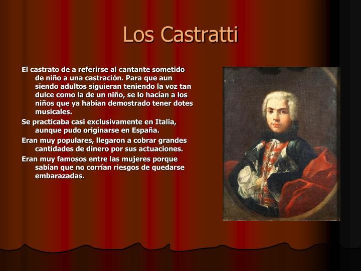 Los Castratti