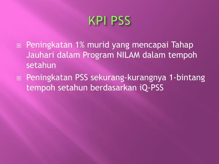 KPI PSS