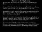 batman on the big screen