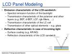 lcd panel modeling