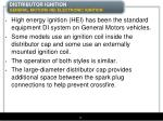 distributor ignition general motors hei electronic ignition