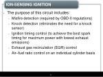 ion sensing ignition2