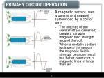 primary circuit operation6