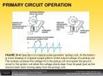 primary circuit operation1