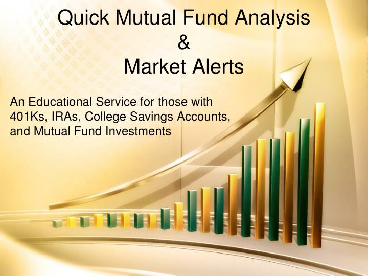 analaysis on mutual funds