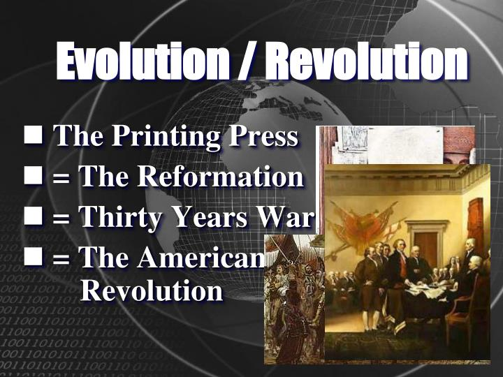 Evolution / Revolution