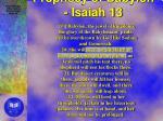 prophecy of babylon isaiah 13