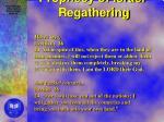 prophecy of israel regathering
