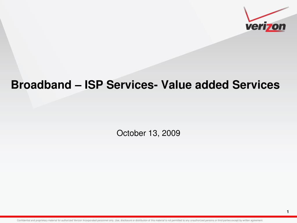 Ppt Broadband Isp Services Value Added Services Powerpoint