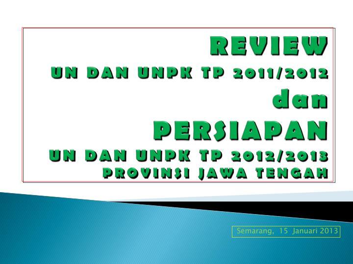 Semarang 15 januari 2013