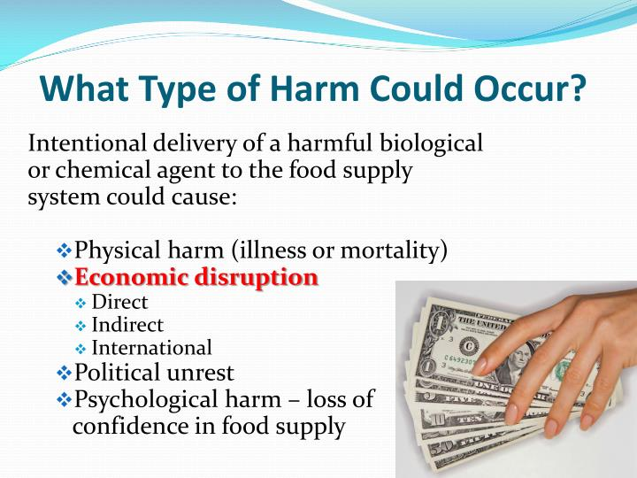 What Type of Harm Could Occur?