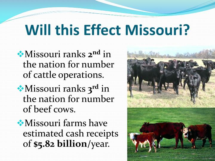 Will this Effect Missouri?