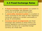 3 3 fixed exchange rates