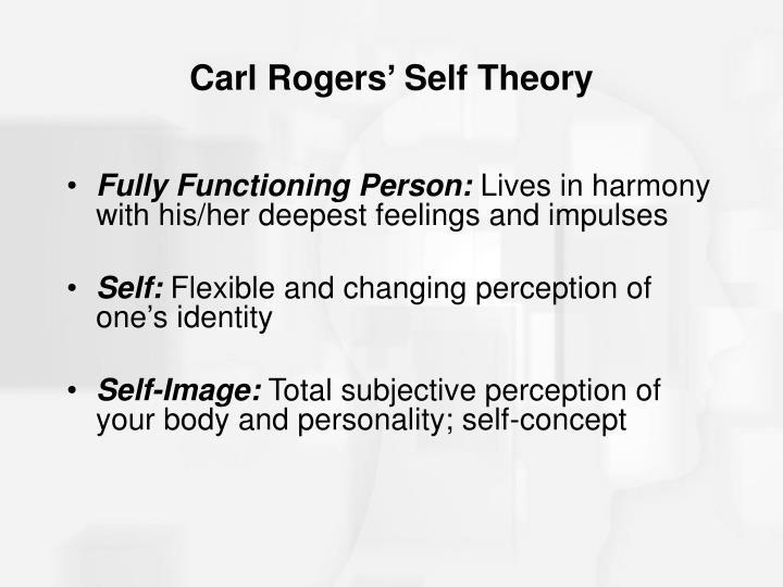 carl rogers self theory