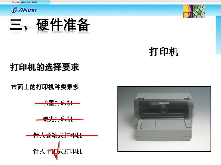 市面上的打印机种类繁多