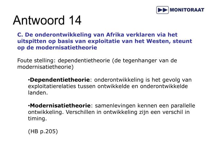 Antwoord 14