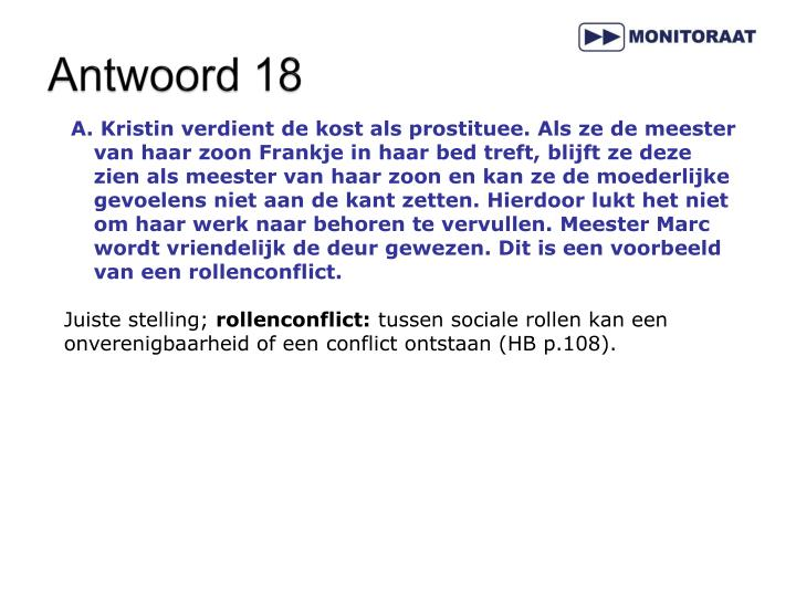 Antwoord 18