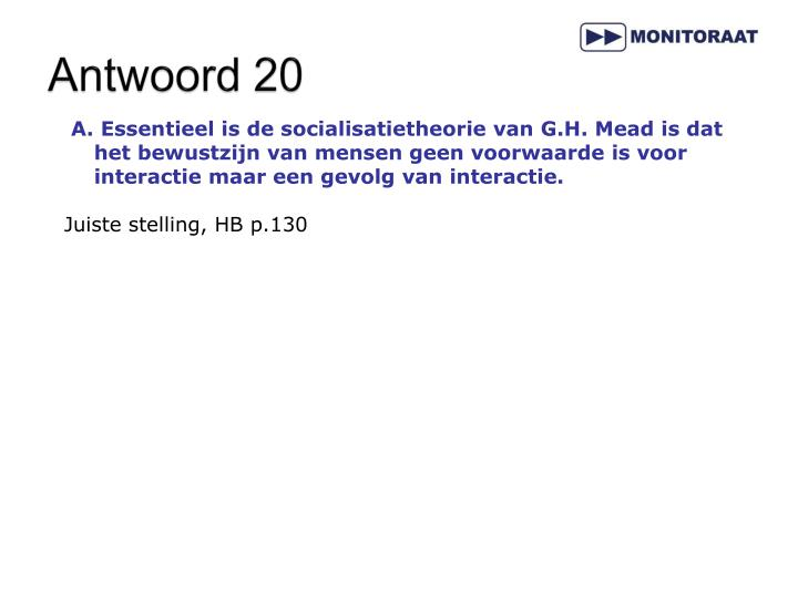 Antwoord 20