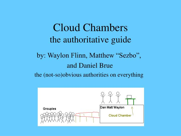 cloud chambers the authoritative guide n.