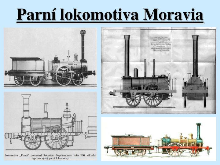 Parní lokomotiva Moravia