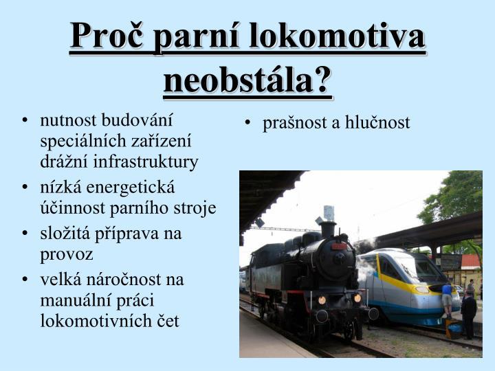 Pro parn lokomotiva neobst la
