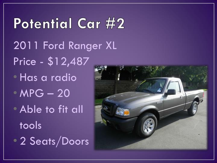 Potential Car #2