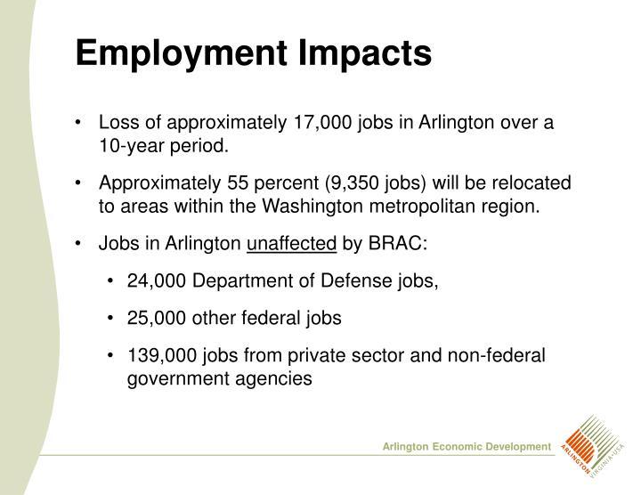Employment Impacts