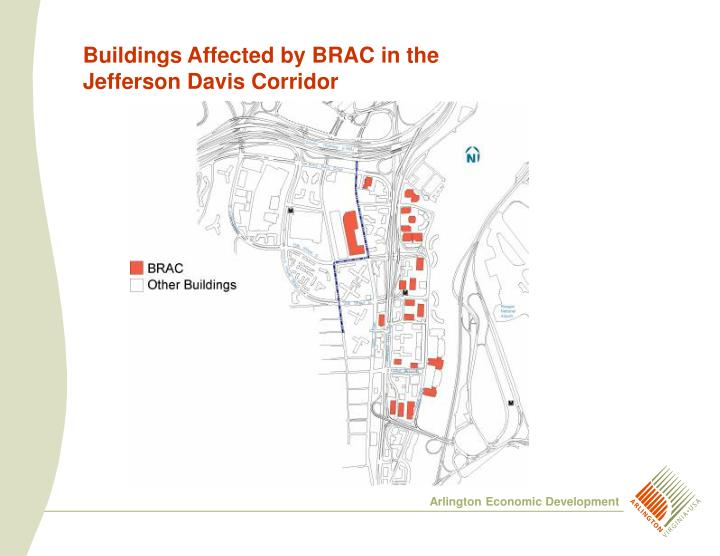 Buildings Affected by BRAC in the