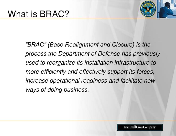 What is BRAC?