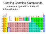creating chemical compounds7