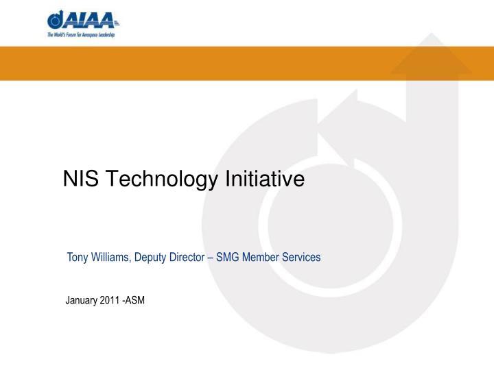 NIS Technology Initiative