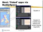 next yoked apps via buddyspace