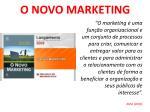 o novo marketing