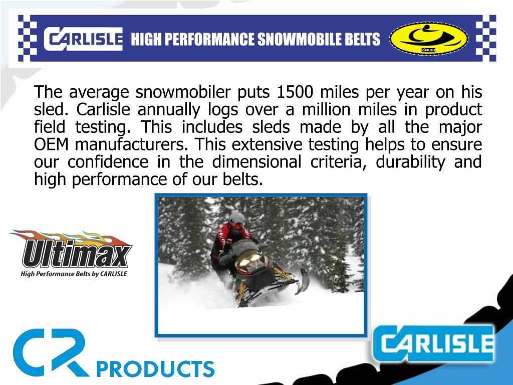 PPT - Snowmobile Belt Maintenance PowerPoint Presentation